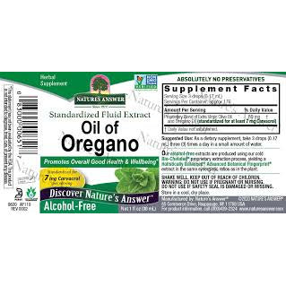 Oil of Oregano Leaf - Alcohol-Free Extract - 1oz - Source Natural