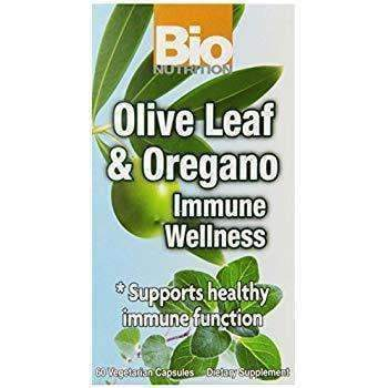 Olive Leaf & Oregano - Immune Wellness 1,575 mg 60 Vegetarian Capsules
