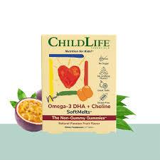 Omega-3 DHA + Choline SoftMelts 27 TABLETS