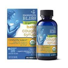 Organic Baby Cough Syrup & Mucus Relief + Immunity Boost 1.67 OZ
