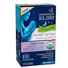 Organic Baby Cough Syrup & Mucus Relief Night Time 1.67 OZ