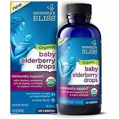 Organic Baby Elderberry Drops + Immunity Boost 3 OZ