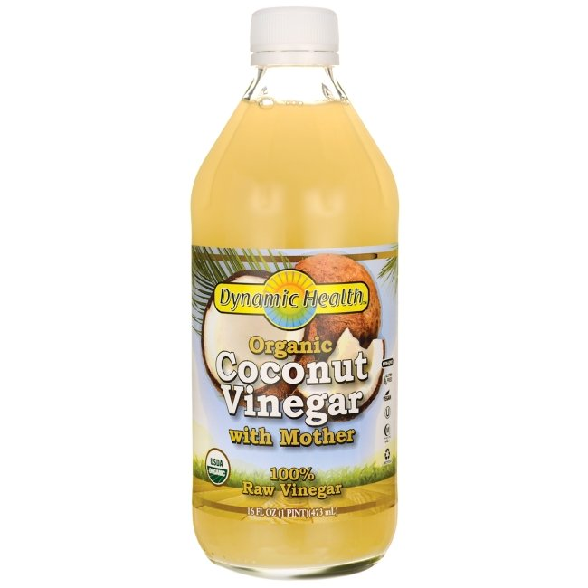 Organic Coconut Vinegar With Mother - Dynamic Health Laboratories