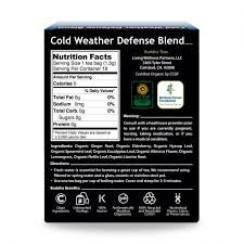 Organic Cold Weather Defense Blend