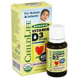 Organic Vitamin D3 for Babies & Infants 10 ML