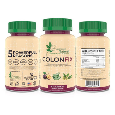 Pastillas para limpiar el Colon – Aloe Mag Detox - Colon Fix