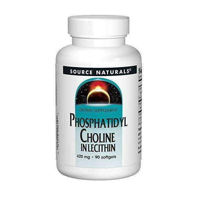 Phosphatidyl Choline In Lecithin 420MG 90 SoftGels