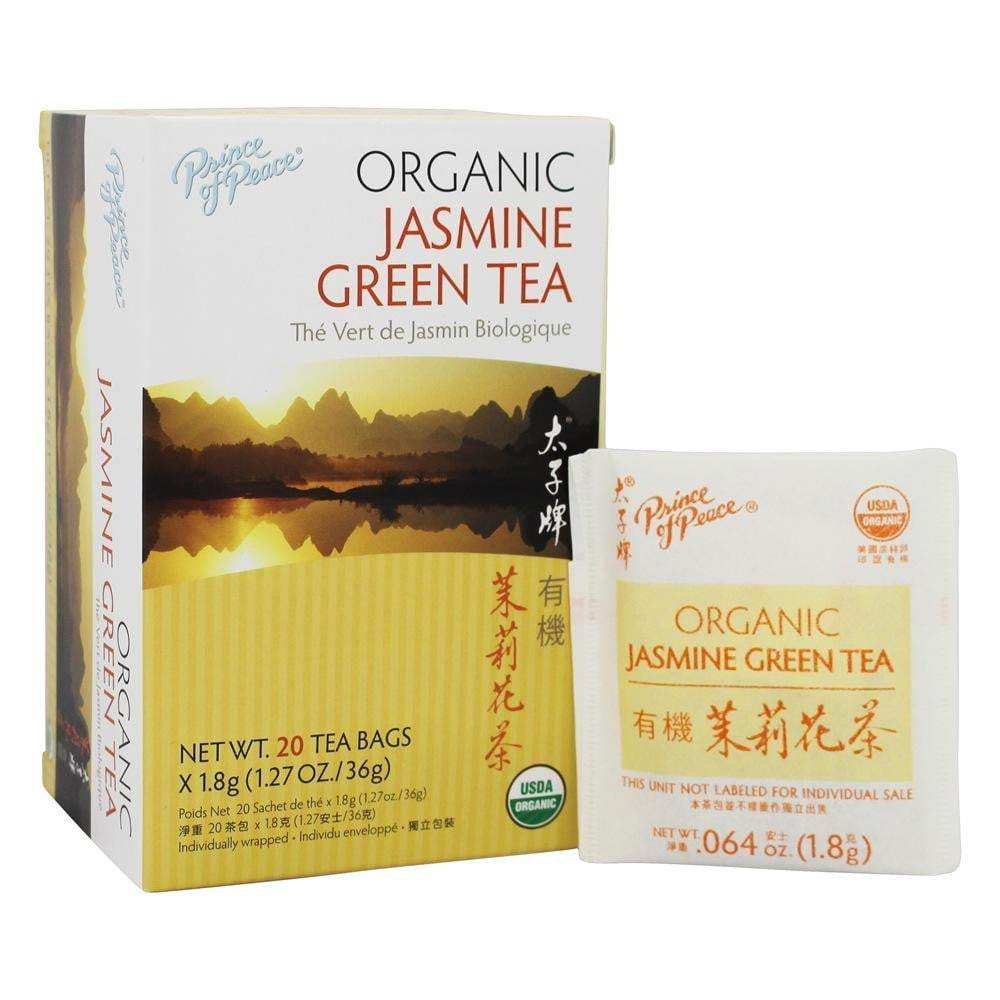 Prince Of Peace Organic Jasmine And Green Tea Sachets, 20 Ea