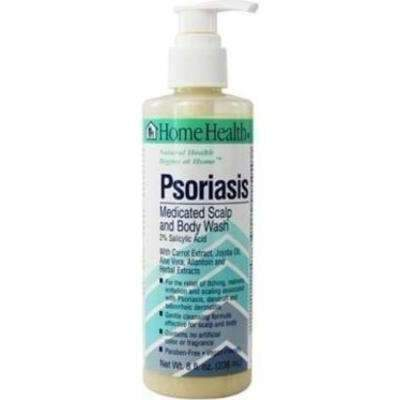 Psoriasis Medicated Scalp and Body Wash - 8oz