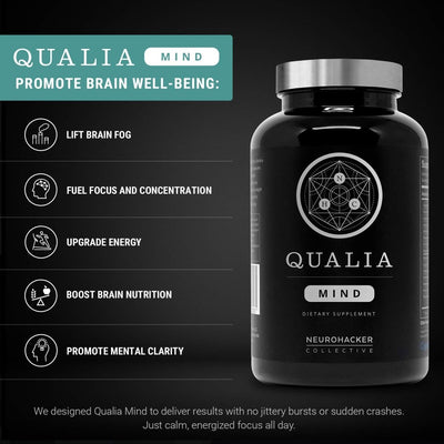 Qualia Mind 35 Vegetarian Capsules