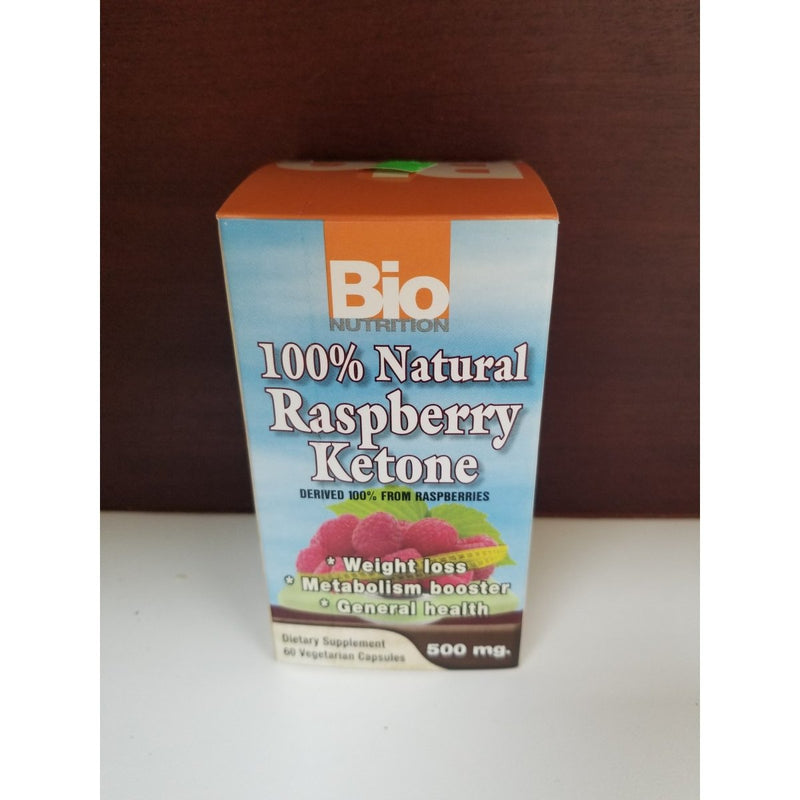 Raspberry Ketone 100% Natural 60 Cápsulas Vegetarianas 500mg