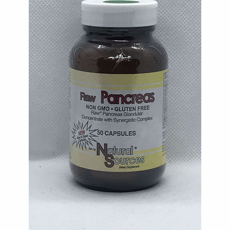 Raw Pancreas 50 Capsules