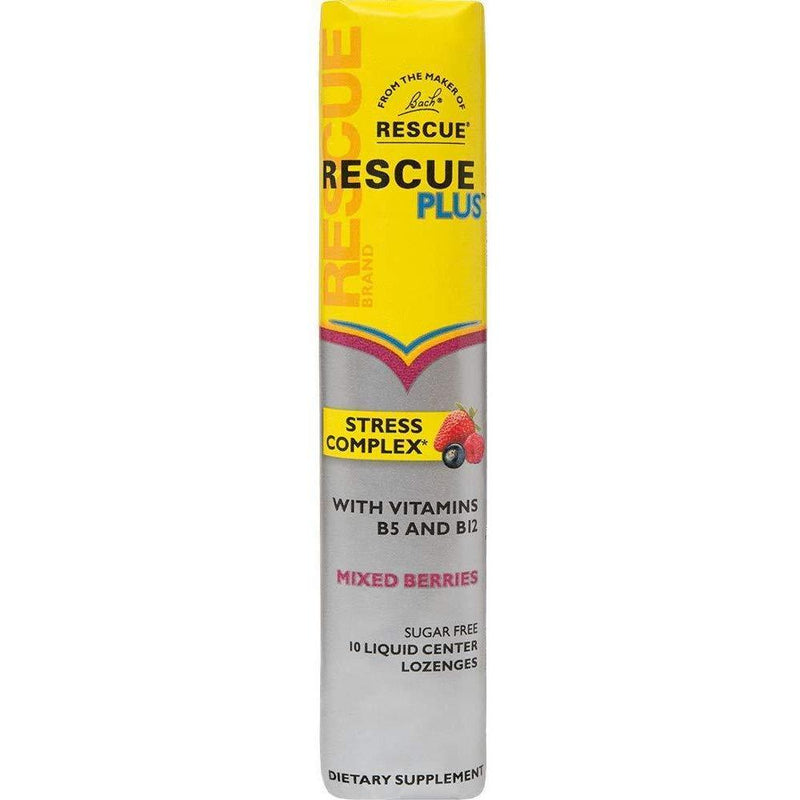 Rescue Plus - Stress Complex Lozenge - Mixed Berries - 10 Lozenge