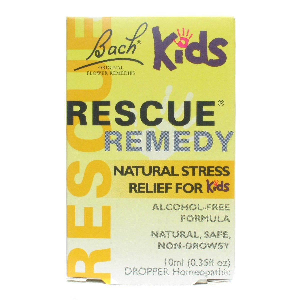 Rescue Remedy - Natural Stress Relief for Kids - Homeopathic - 10ml