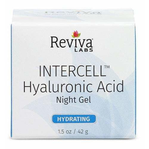 Reviva Labs - InterCell Hyaluronic Acid Night Gel - 1.25 oz