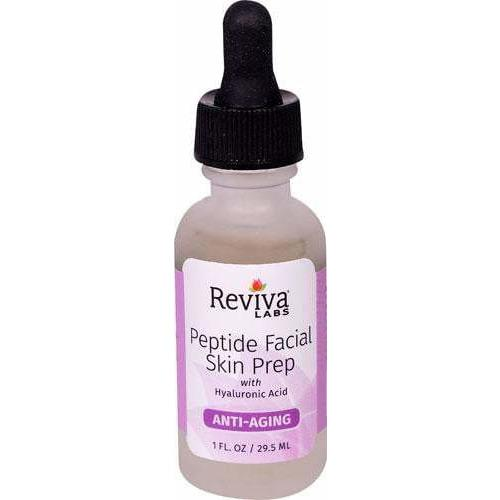 Reviva Labs Peptide Facial Skin Prep -- 1 fl oz 29.5ml