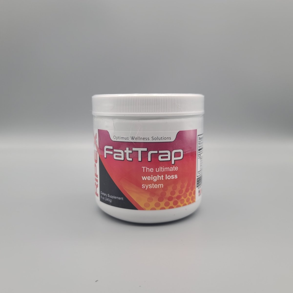 Ripex - Fat Trap - The Ultimate Weight Loss System - 8oz