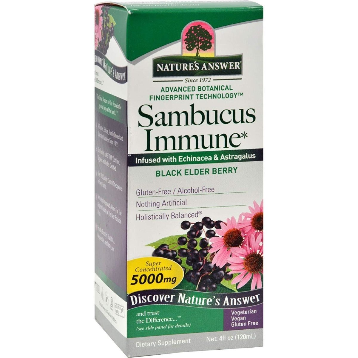 Sambucus Immune - Black Elderberry Extract - 12000 mg - 4oz