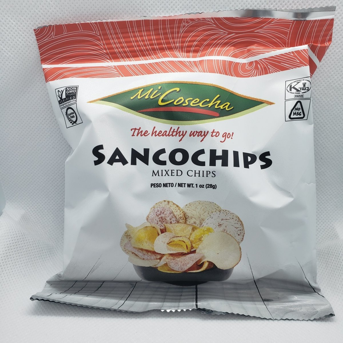Sancochochips - Mixed Chips - Snack - 1oz - 1 Bag