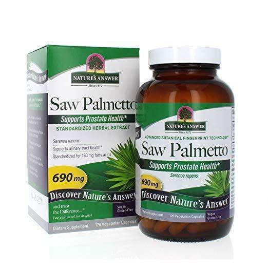 Saw Palmetto Standarized Herbal Extract - 690 mg - 120 Vegetarian Capsules
