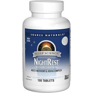 Sleep Science® NightRest™ with Melatonin 100 TABLETS