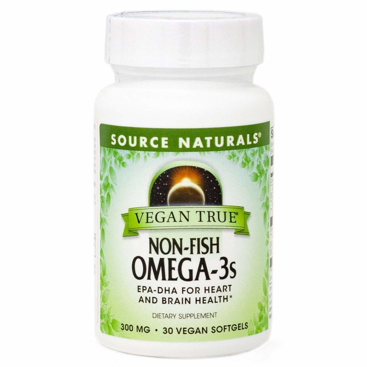 Source Naturals Vegan True Non-Fish Omega-3s EPA-DHA, for Heart and Brain Health