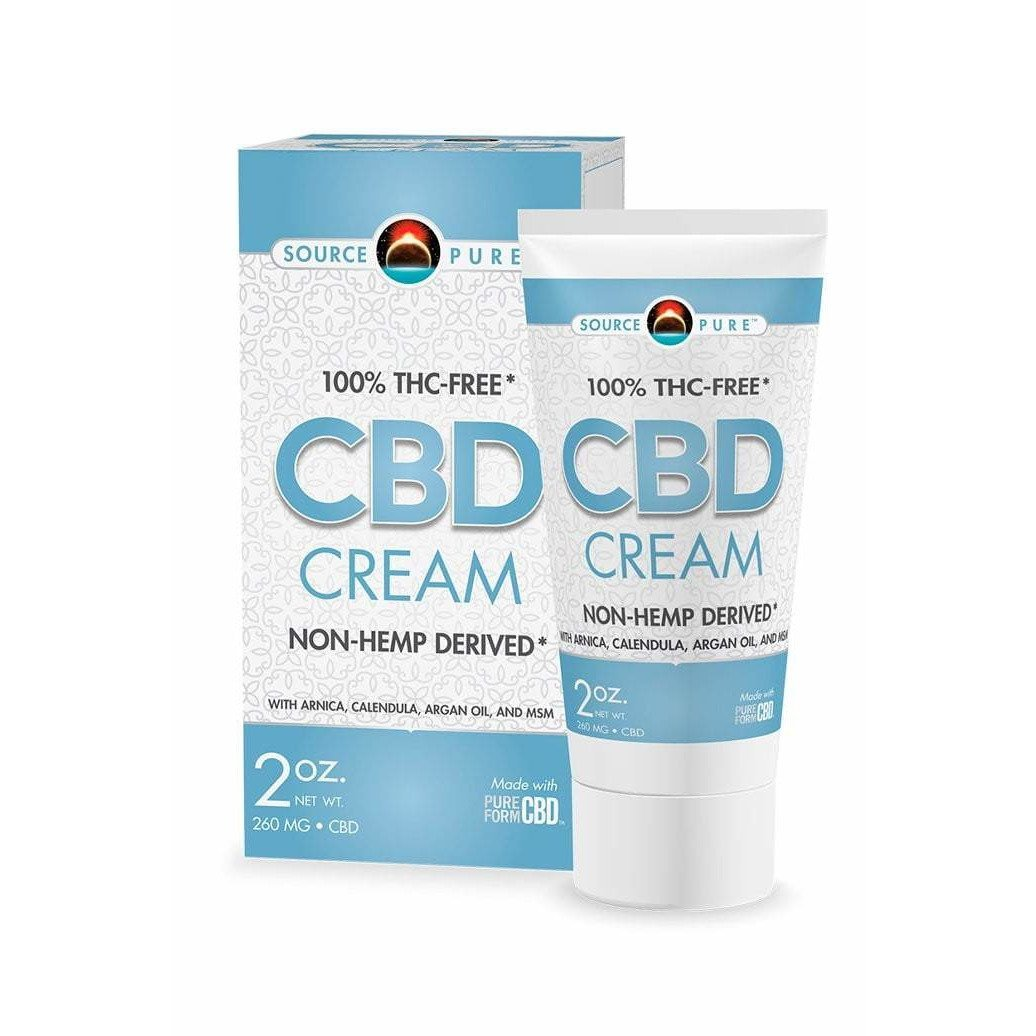 SourcePure CBD Cream Tube 2 oz Box