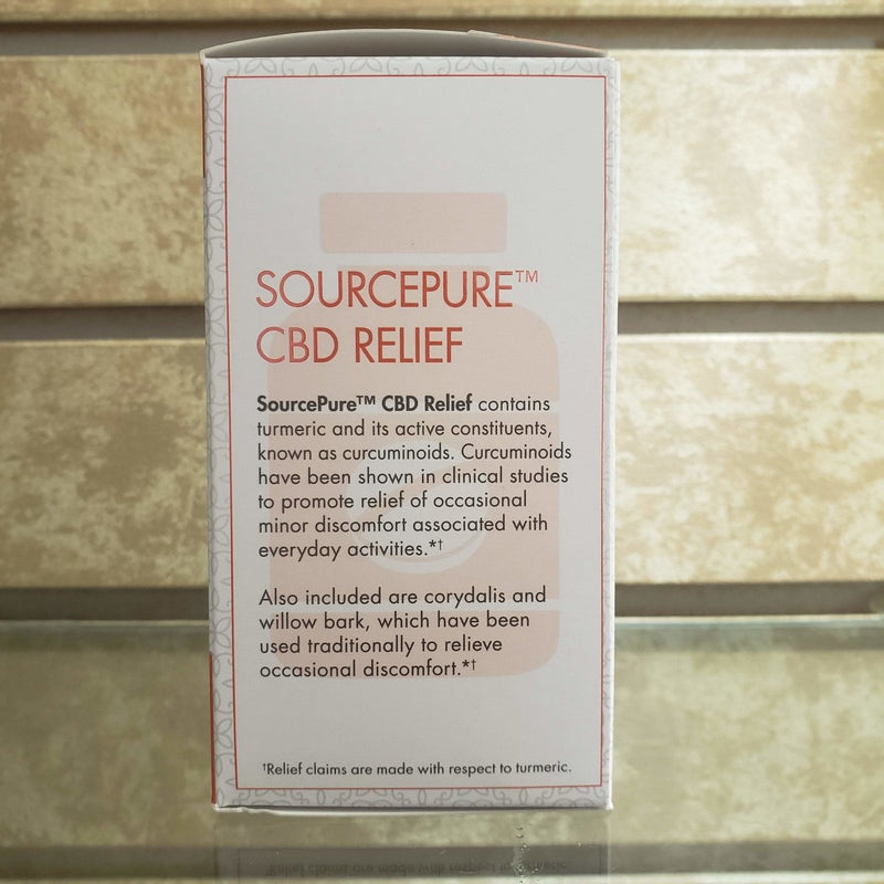 Sourcepure - CBD Relief - 60 Tablets