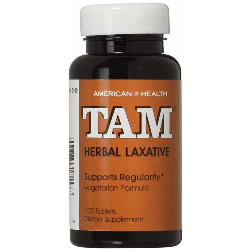 TAM - Tamari Natural - Herbal Laxative - 100 Tablets