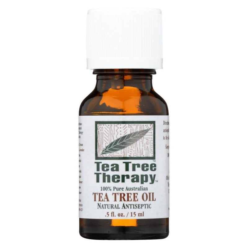 Tea Tree Therapy 587782 Tea Tree Oil 0.5 Fl Oz