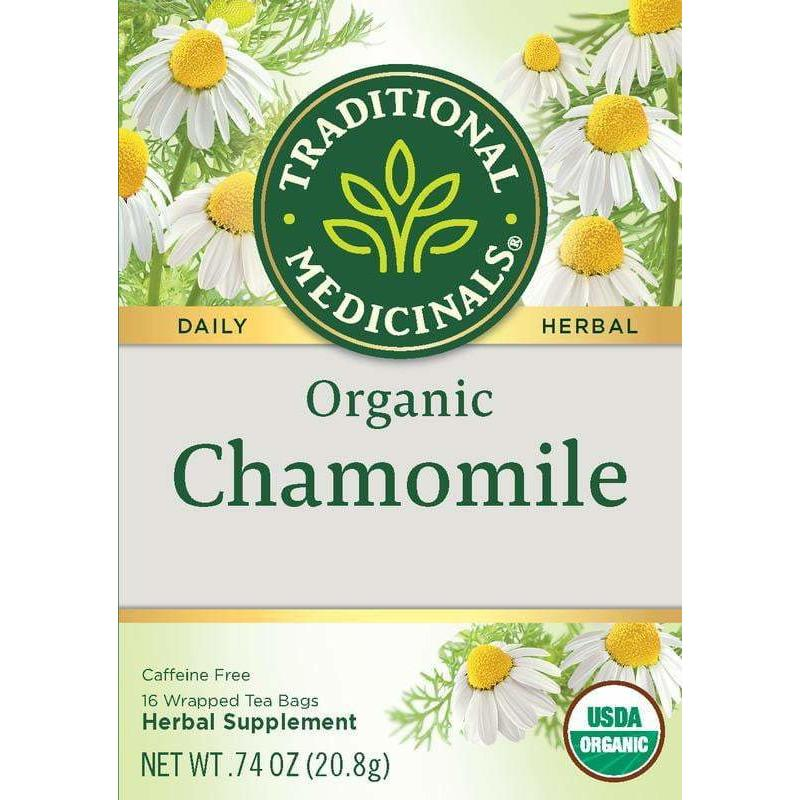 Traditional Medicinals Caffeine Free Organic Herbal Tea Chamomile