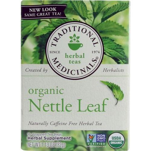 Traditional Medicinals Caffeine Free Organic Herbal Tea Nettle Leaf