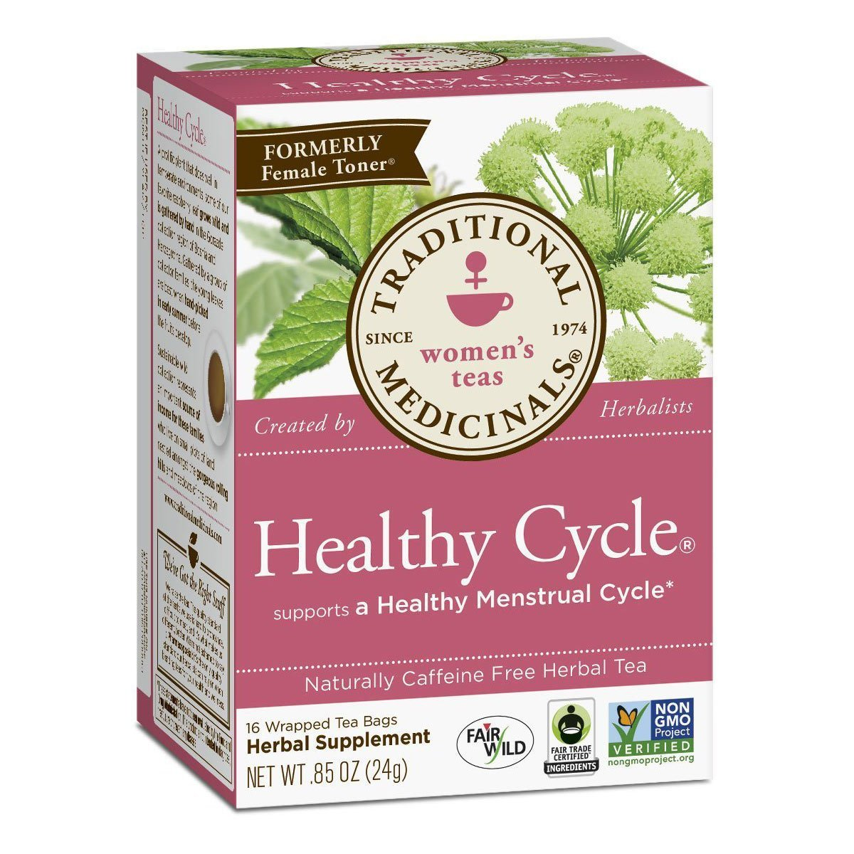 Traditional Medicinals Healthy Cycle, 16-Count Box