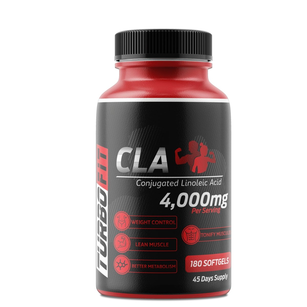 Turbo Fit - CLA - 4000mg - 180 Sofgels