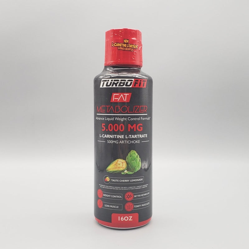Turbo Fit Fat Metabolizer: L-Carnitina L-Tartrate 5,000mg + Alcachofa 500mg