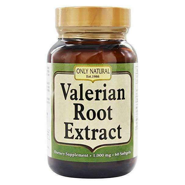 Valerian Root Extract 1000mg 60 Softgels