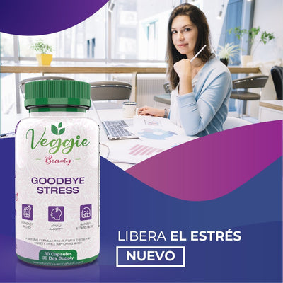 Veggie Beauty - Goodbye Stress - 30 Capsules