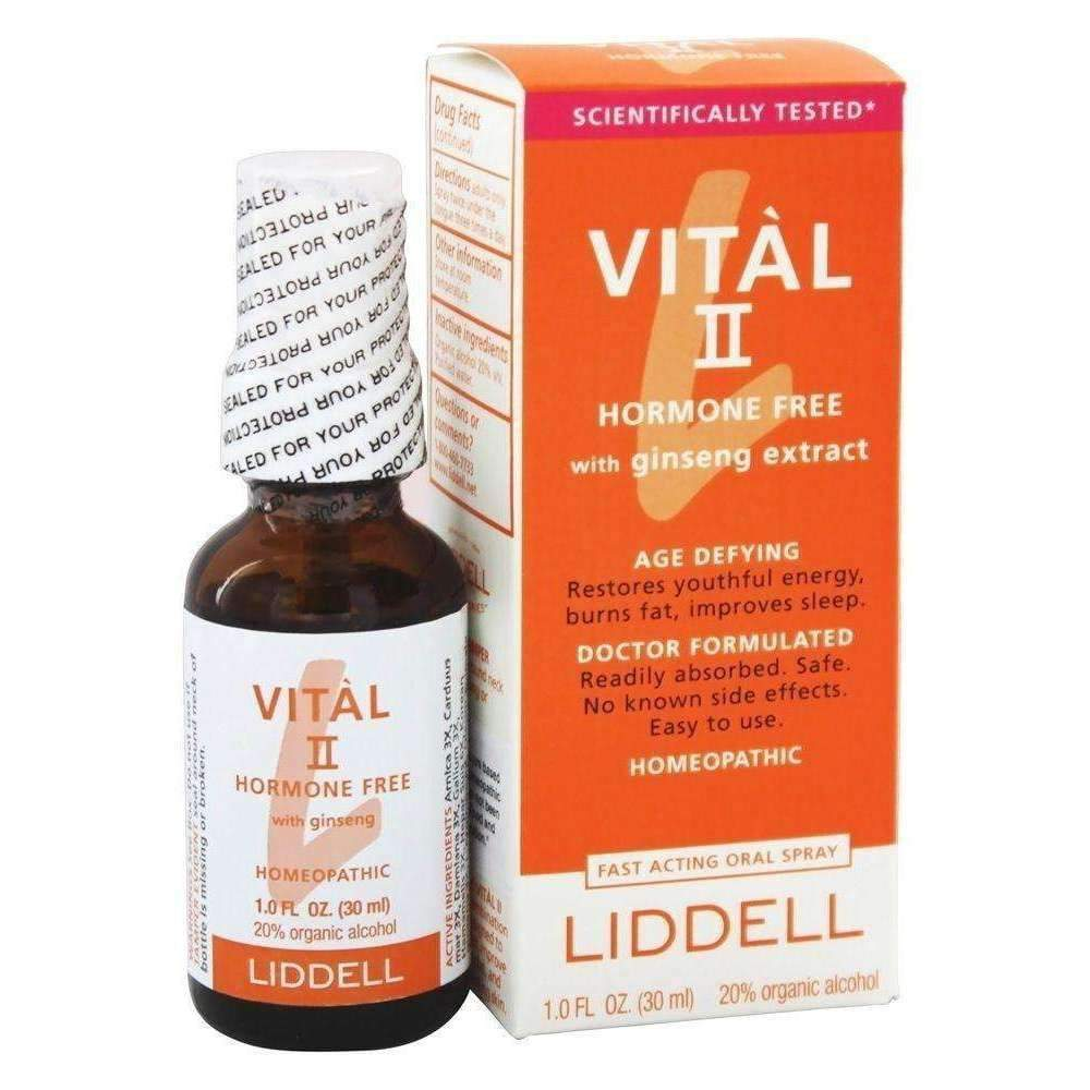 Vital II - Hormone Free with ginseng extract 1 Oz