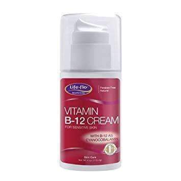 Vitamin B 12 Cream for sensitive skin 4Oz