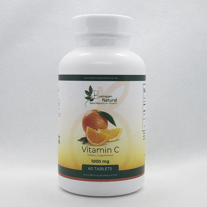 Vitamin C - 1000mg - Max Potency - 60 Tabletas, Capsulas o Liquido
