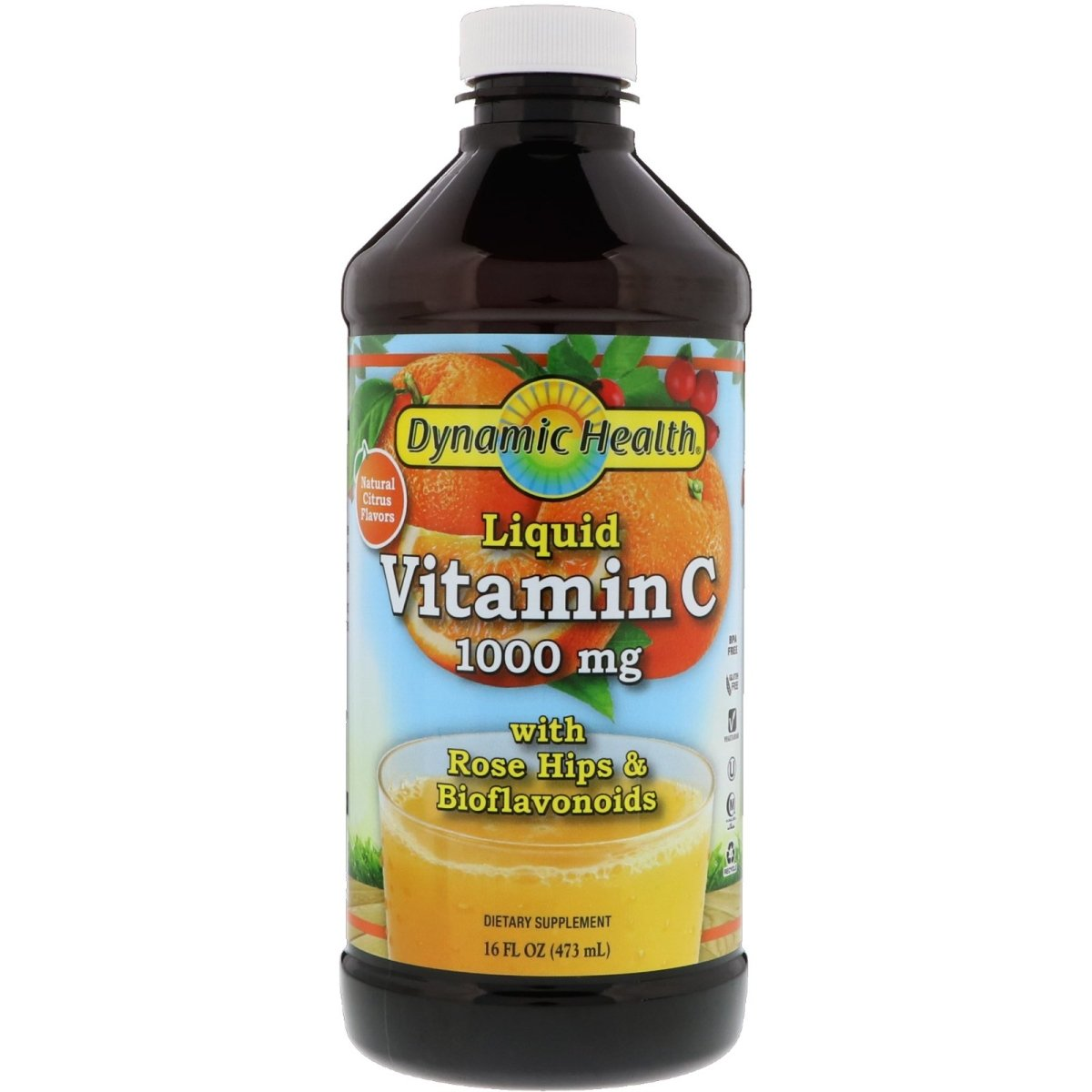 Vitamin C 1000mg with Rose Hips and Bioflavonoids