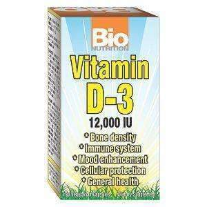 Vitamin D-3 12,000 IU 50 Caps
