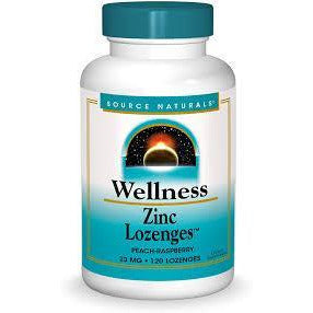 Wellness Zinc Lozenges™ 23 mg 120 Tablets