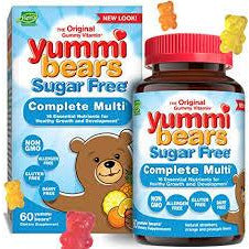 Yummi Bears Multi Vitamin & Mineral Sugar Free for Kids 60