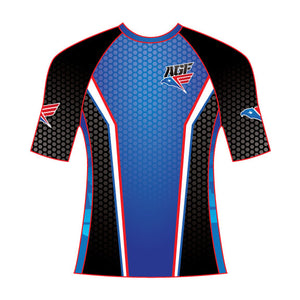 Original Blue Rash Guard (Short Sleeve)