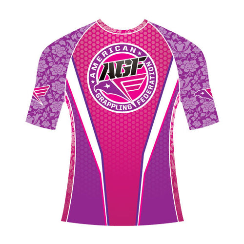 Original Pink Rash Guard (Short Sleeve)
