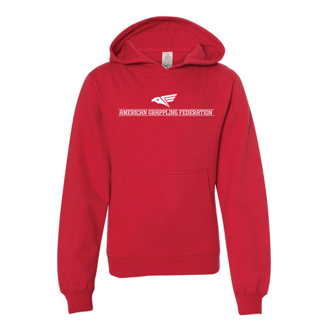 Eagle vs Snake Hoodie (Red)