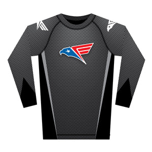 New Gray Rash Guard (Long Sleeve)