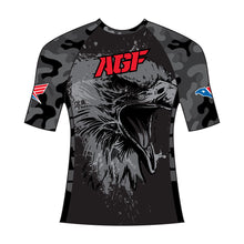 Black Camo Rash Guard (Short Sleeve)