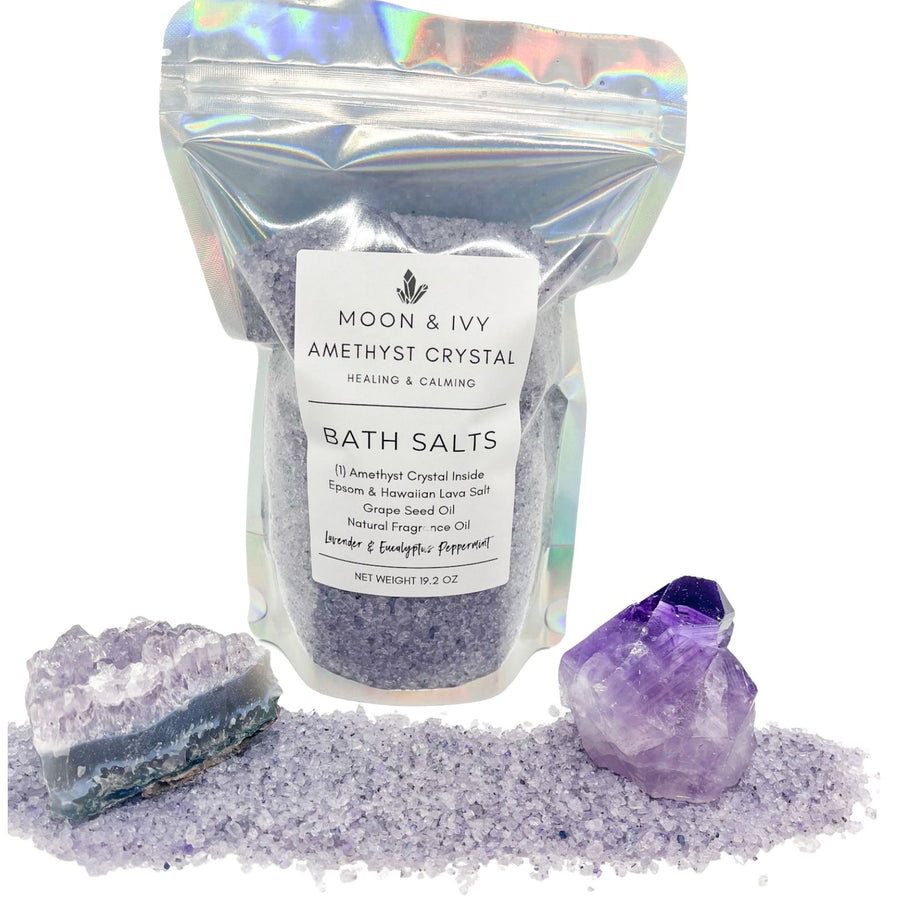 AMETHYST CRYSTAL BATH SALTS